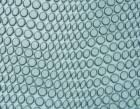RUBBER CROCO TOPY / 4mm /  - colour light grey - 1/2 sheet