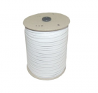 Rubber band for buckles 10mm - colour white