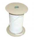 Rubber band for buckles 8mm - colour white