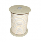 Rubber band for buckles 10mm - colour beige
