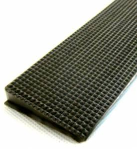wedge rubber strip - colour black