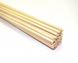 WOODEN PEG - size 4mm / length25cm / - package 40pieces