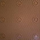 RUBBER NEVADA / 6MM / - colour brown - 1/2 sheet