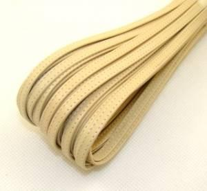 Leather straps for shoes 6mm - colour beige