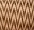 Microcellular rubber STYROGUM EXPORT 6mm - WAVES - colour caramel 1/2 sheet