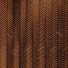 RUBBER SVIG WAVE 2mm - colour brown - 1/2 sheet