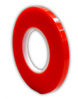 Double adhesive tape / STRONG / RED - 5mm
